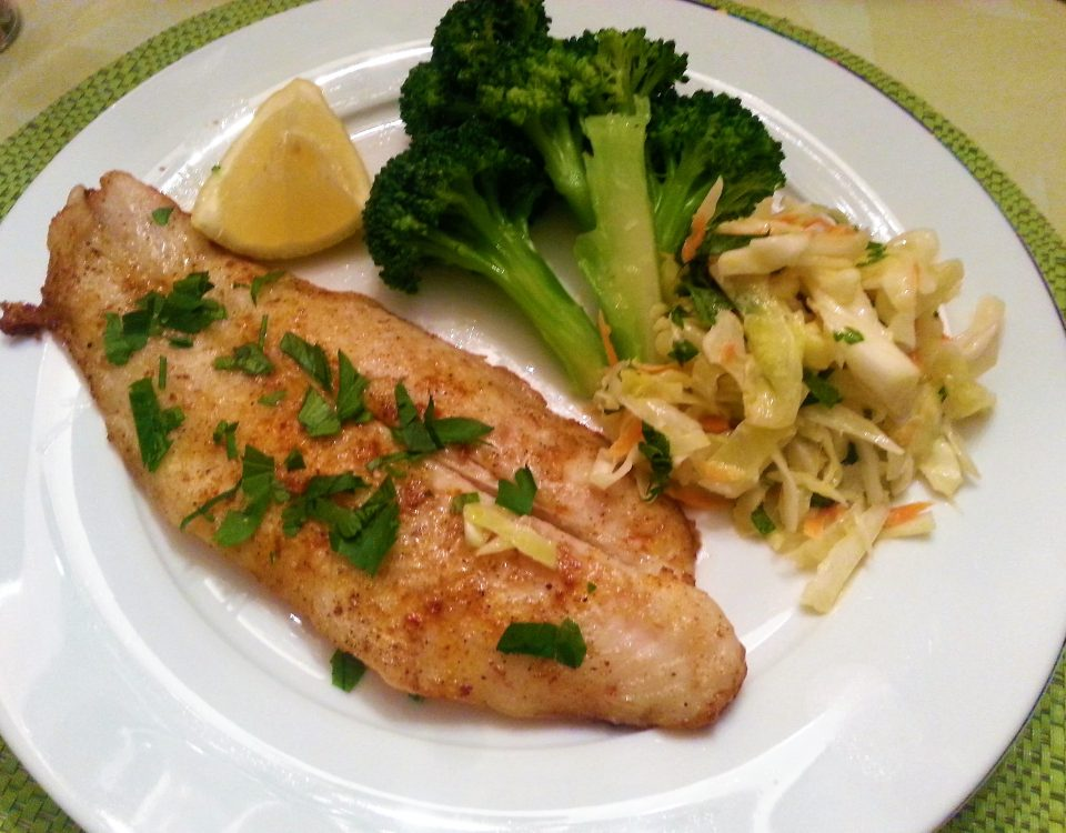 basa-fish-broccoli-and-slaw